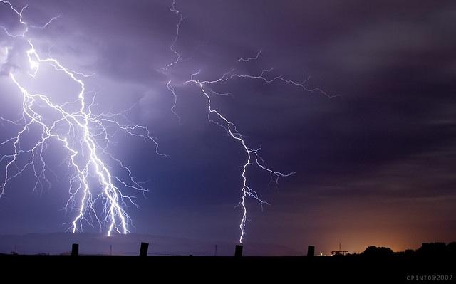 on lightning without thunder