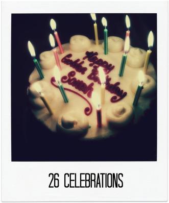 26 celebrations logo