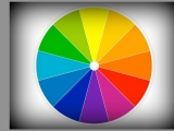 on the color wheel and a creativeheart