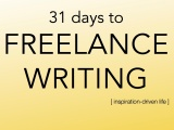 31 days to freelance writing